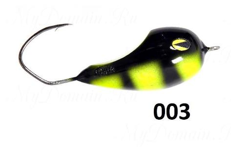 Приманка хорватское яйцо KIRA FISHING Scorpion цвет 003