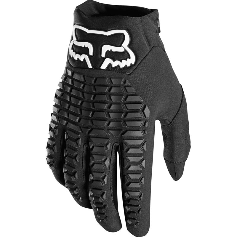 Fox Legion Black перчатки, черные