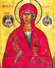 Икона Параскева Пятница (копия старинной)