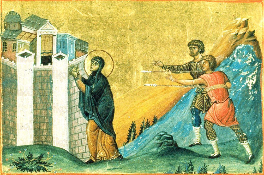 Пелагея Антиохийская  (копия старинной иконы)