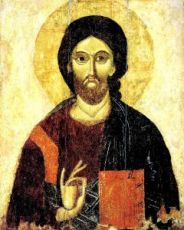 Икона Господь Вседержитель (копия старинной)