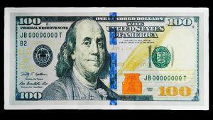 Конверт для денег 100$