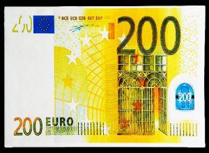 Конверт для денег 200 ЕВРО