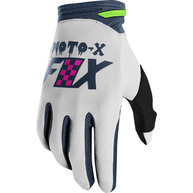 Fox - 2019 Dirtpaw Czar Lt Grey перчатки, светло-серые