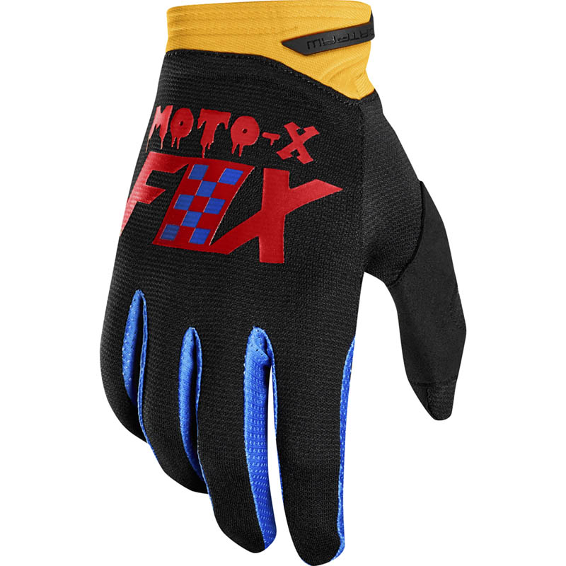 Fox - 2019 Dirtpaw Czar Black/Yellow перчатки, черно-желтые