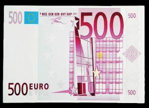 Конверт для денег 500 ЕВРО