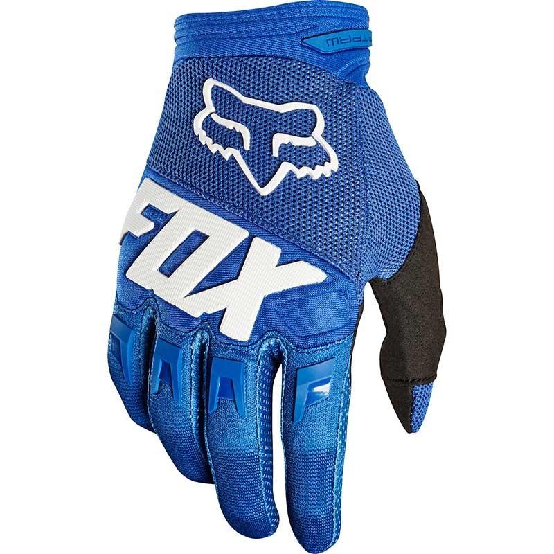 Fox - 2019 Dirtpaw Race Youth Blue перчатки подростковые, синие