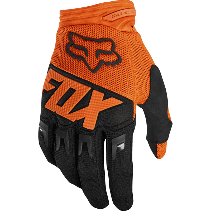 Fox - 2019 Dirtpaw Race Orange перчатки, оранжевые