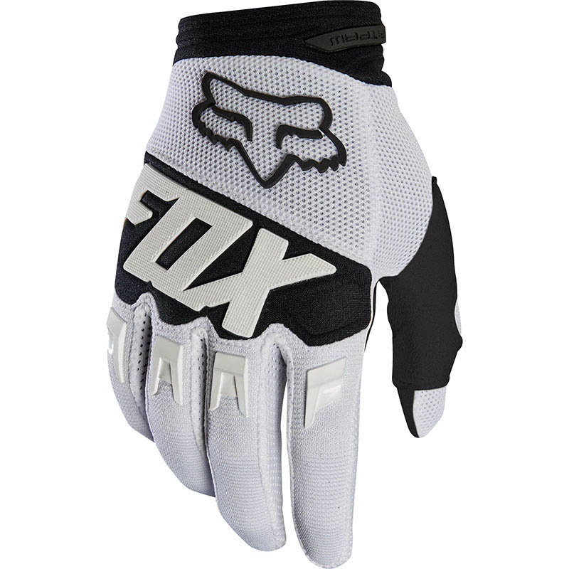 Fox - 2019 Dirtpaw Race White перчатки, белые