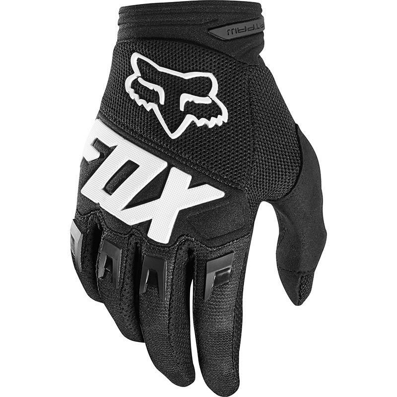 Fox - 2019 Dirtpaw Race Black перчатки, черные
