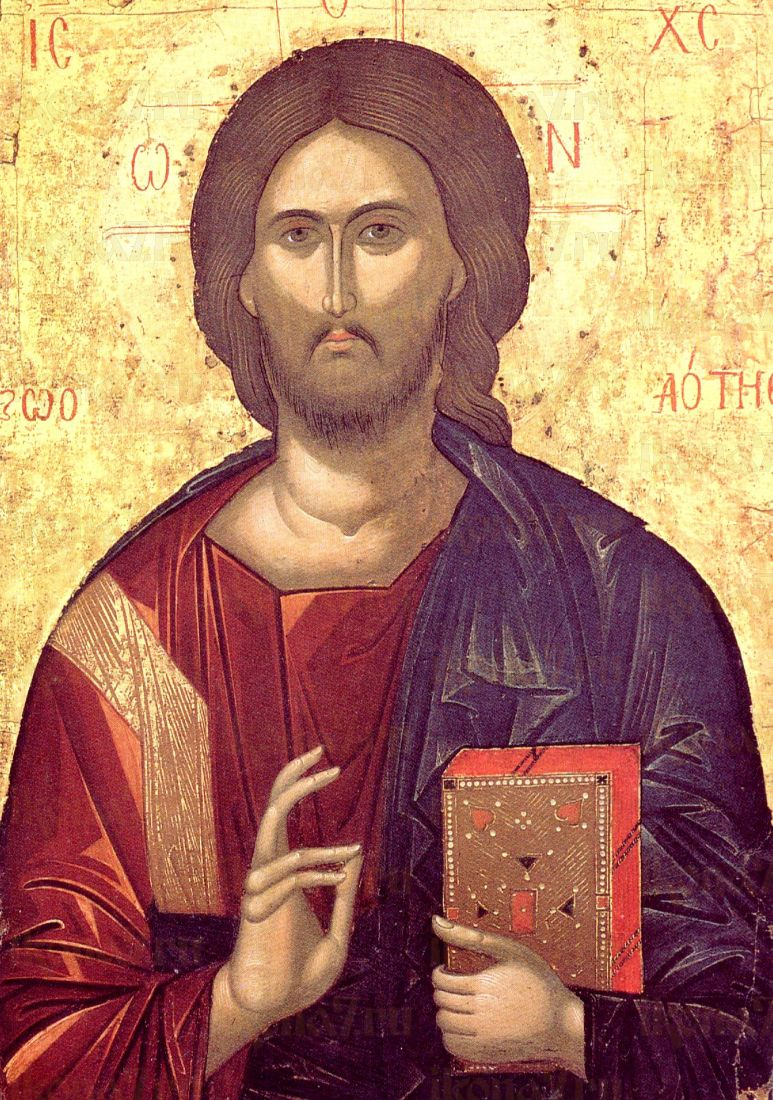 Господь Вседержитель  (копия старинной иконы)