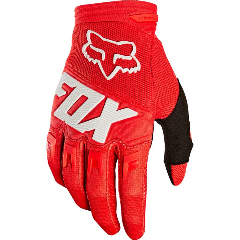 Fox - 2019 Dirtpaw Race Red перчатки, красные