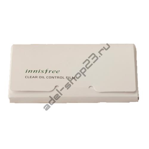 INNISFREE - Матирующие салфетки от жирного блеска, 50 шт