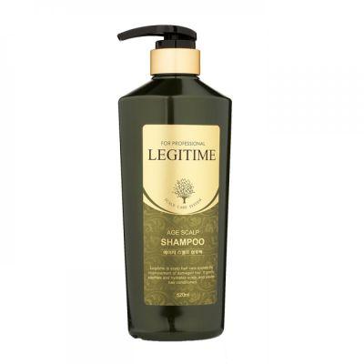 Шампунь для волос укрепляющий Welcos Mugens Legitime Age Scalp Shampoo 520мл