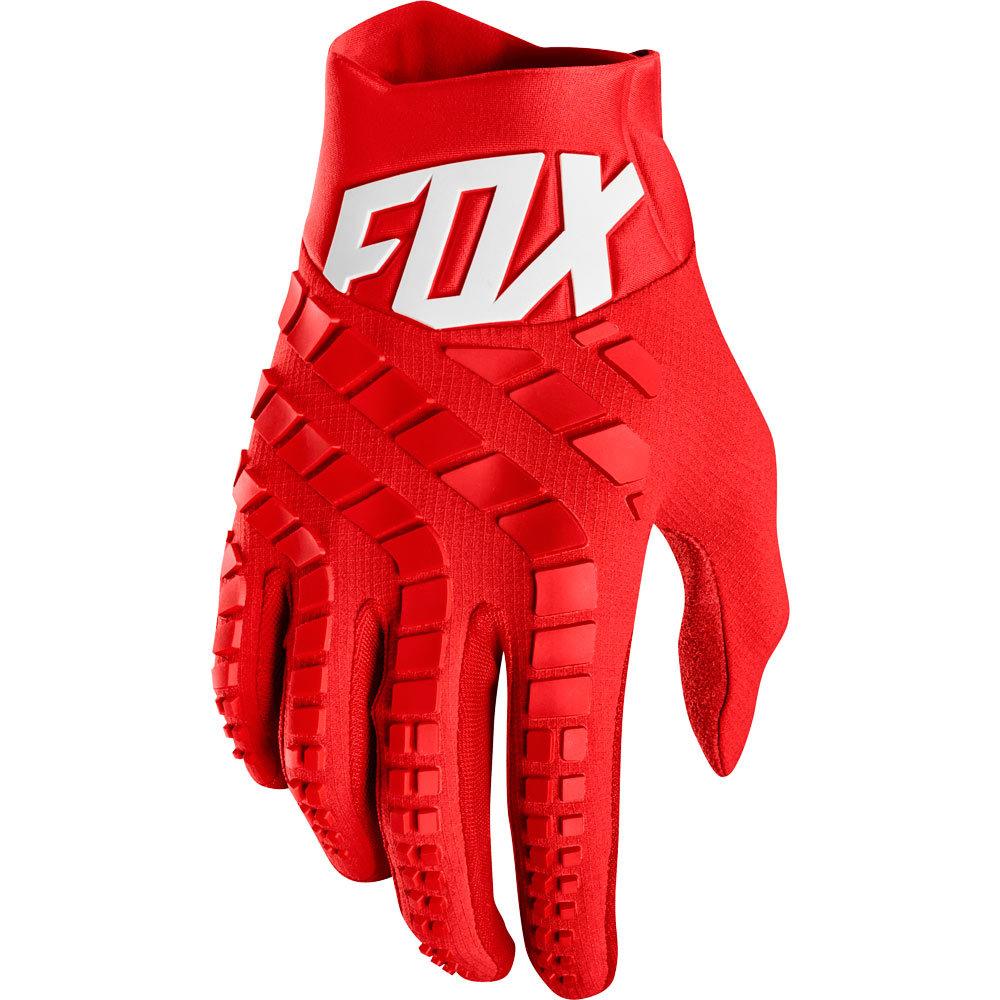 Fox - 2019 360 Red перчатки, красные