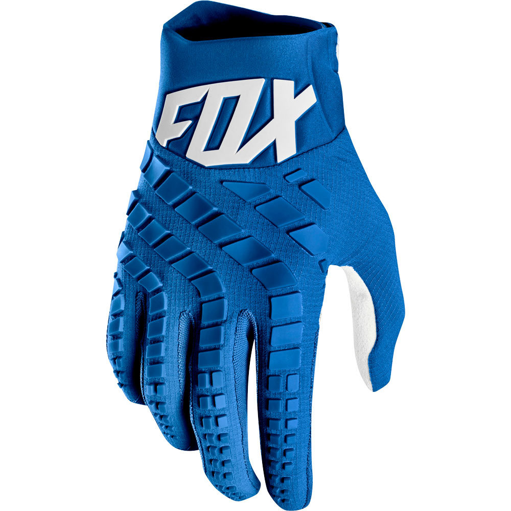 Fox 360 Blue перчатки, синие