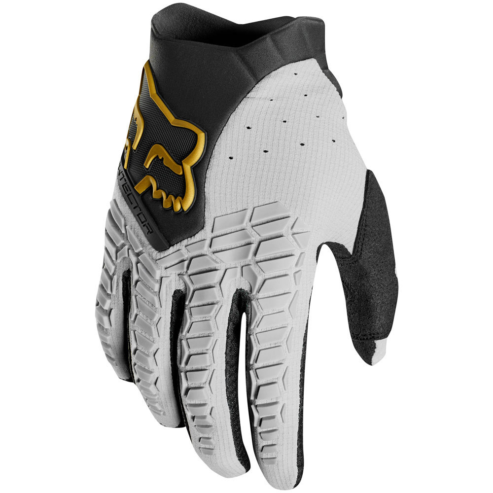 Fox - 2019 Pawtector Grey перчатки, серый