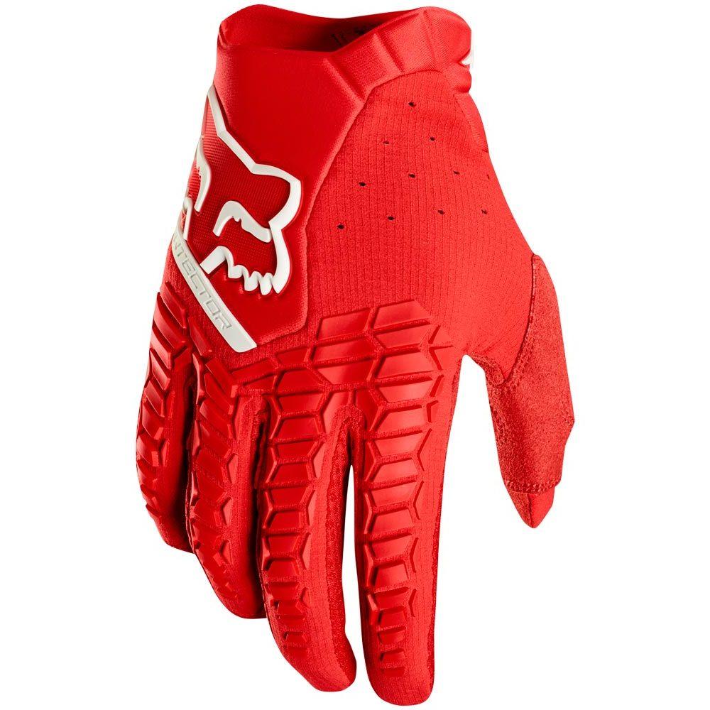 Fox - 2019 Pawtector Red перчатки, красные
