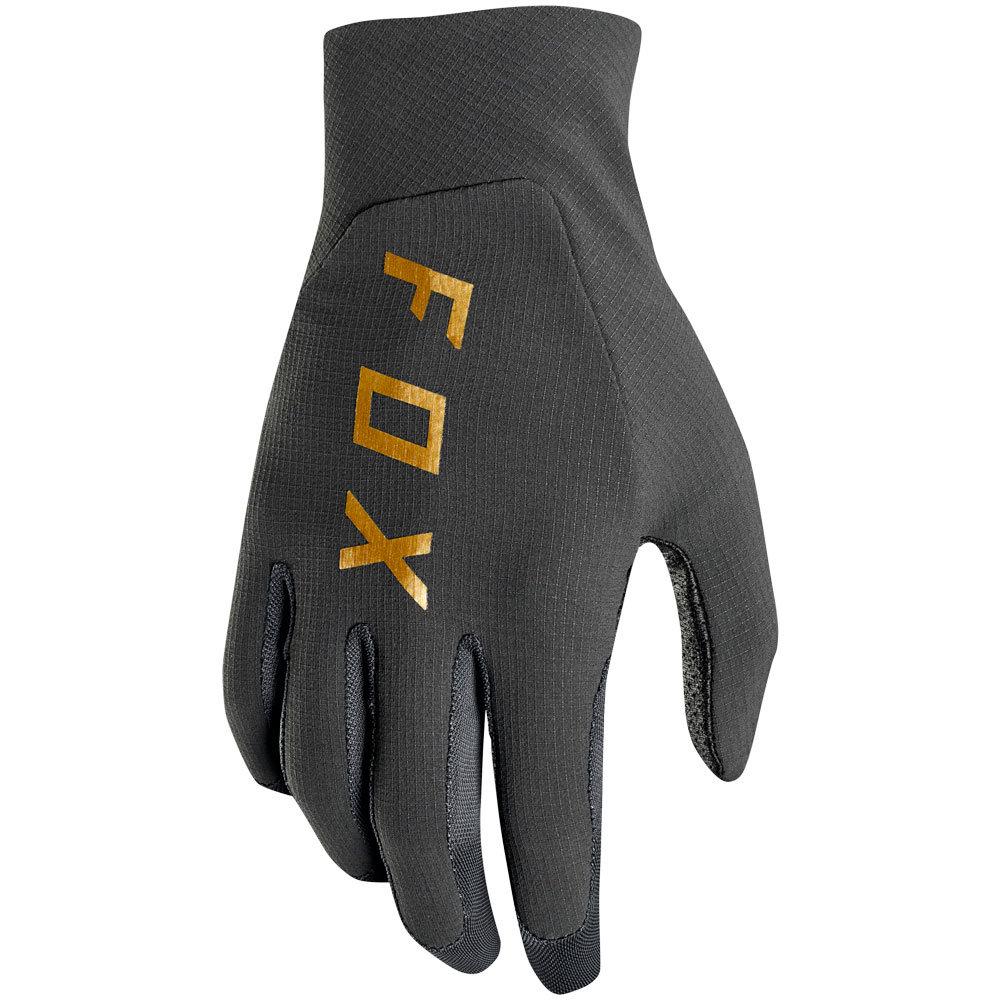 Fox - 2019 Flexair Black Vintage перчатки, черные