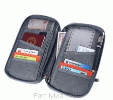 Многофункциональный органайзер для путешествий MULTIFUNCTION TRAVEL PASSPORT PACKAGE
