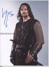Автограф: Вигго Мортенсен. Властелин колец