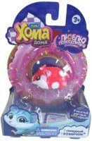 Купить Интерактивный хомячок 1 TOY Хома Дома красный недорого в москве