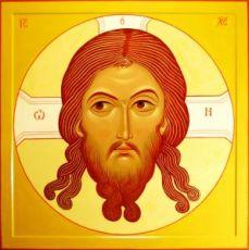 Спас Нерукотворный (икона на дереве)