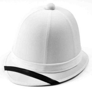 Шлем пробковый белый