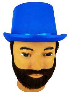 Шляпа Цилиндр(синий)