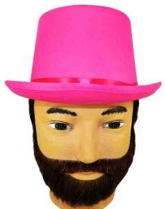 Шляпа Цилиндр(розовый)