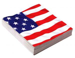 Салфетки флаг США