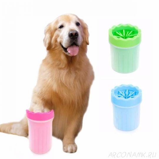 Силиконовая лапомойка для собак, 15 см