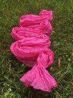 Яркий розовый шелковый шарф. Купить в Москве, интернет магазин