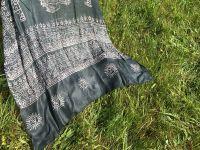 Темно серый универсальный шарф парео. Купить в Москве