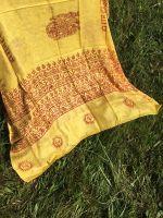 Яркий индийский шарф из натурального хлопка марлевки. Купить в Москве, интернет магазин