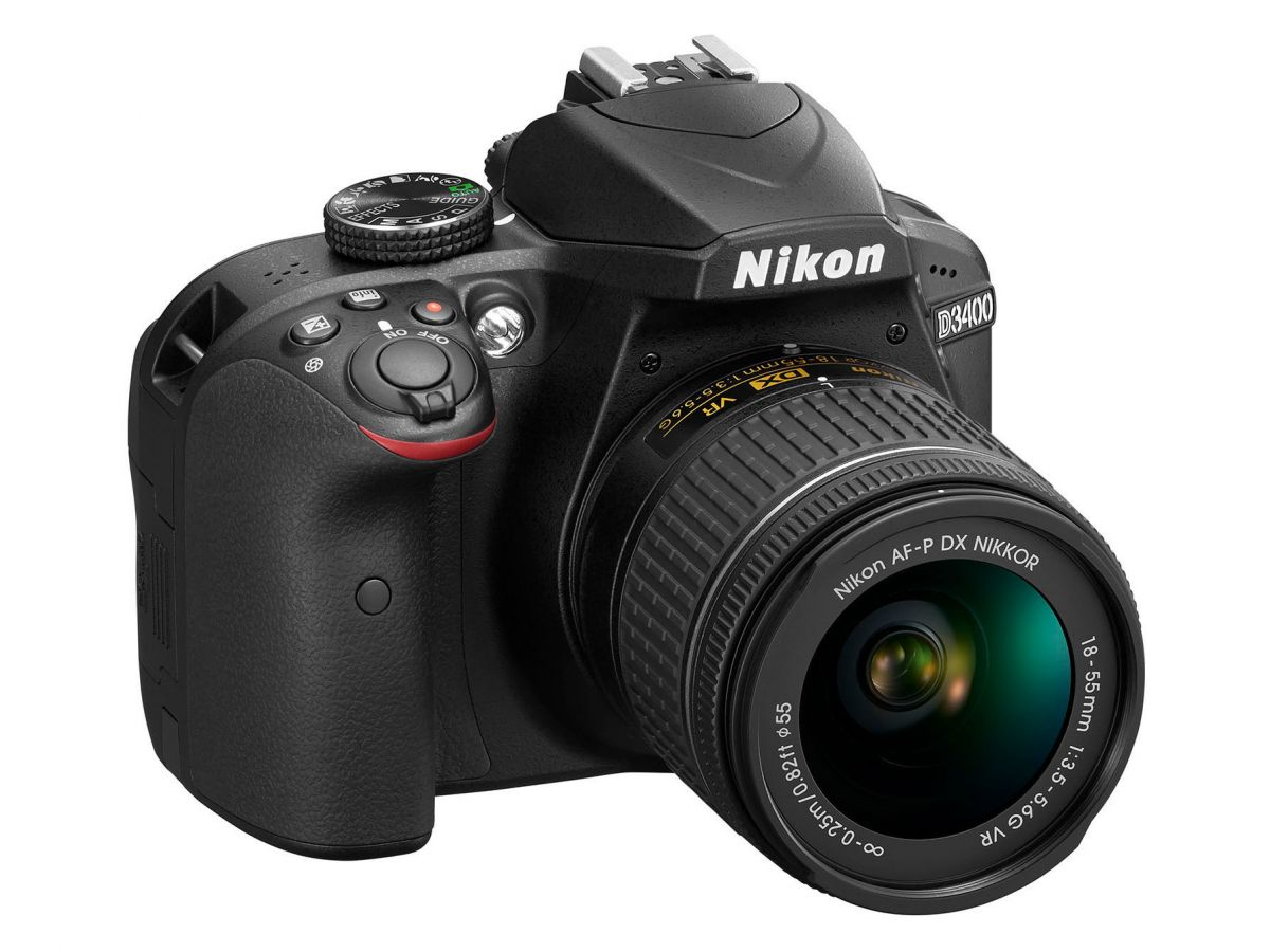 Фотоаппарат Nikon D3400 Kit 18-55 mm AF-P Black