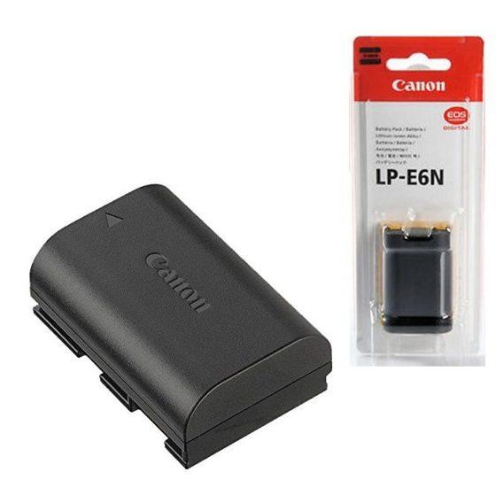 Аккумулятор Canon LP-E6N для EOS 5D MARK III, 6D, 5D MARK II, 70D, 80D, 7D Mark II, 7D, 60D, 5DS, 5DSR
