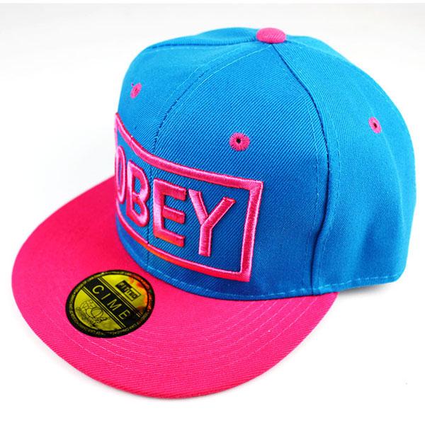 Кепка Obey (розово-голубая)