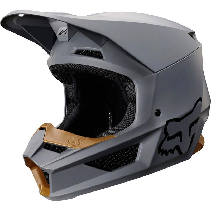 Fox - 2019 V1 Matte Stone шлем, серый матовый