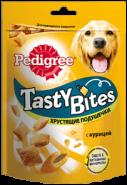 Pedigree Tasty Bites Хрустящие подушечки с курицей (95 г)