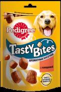 Pedigree Tasty Bites Ароматные кусочки с говядиной (130 г)