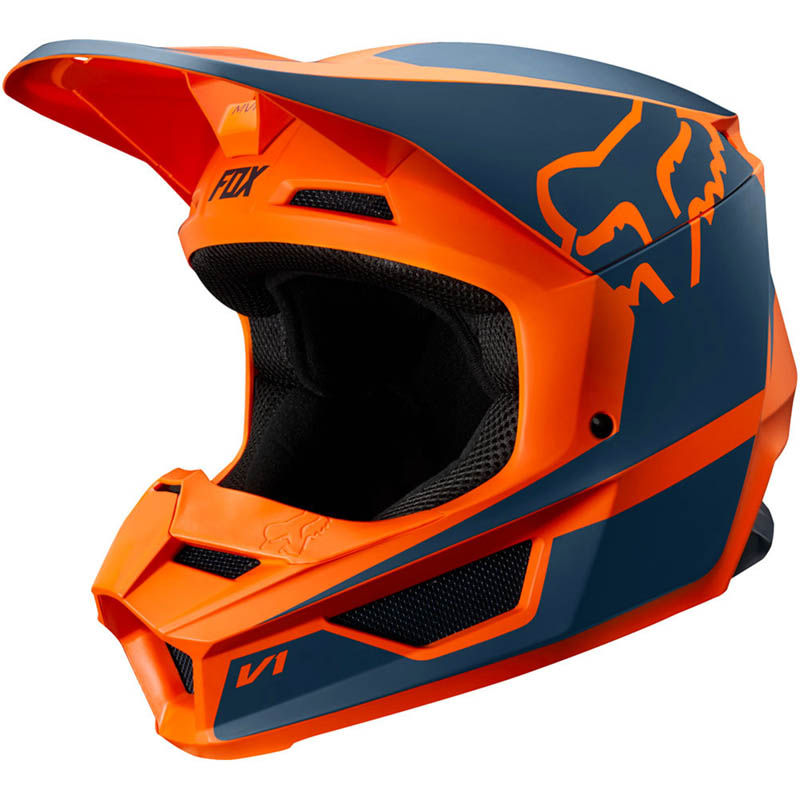 Fox - 2019 V1 Przm Orange шлем, оранжевый