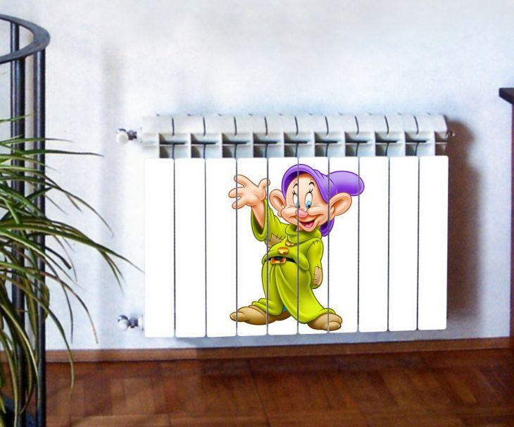 """Фотодекор для радиатора отопления """"Дети 0014"""""""