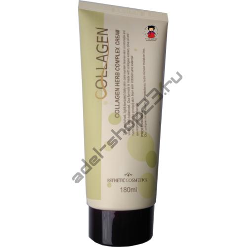 ESTHETIC HOUSE - Крем с коллагеном и растительным комплексом Collagen Herb Complex Cream