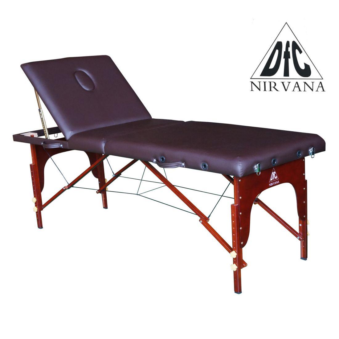 """Массажный стол DFC NIRVANA Relax Pro """"коричневый"""""""