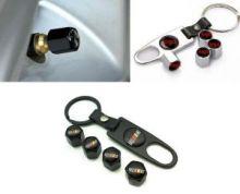 Колпачки на ниппели Ralliart + ключ-брелок, выбор цвета
