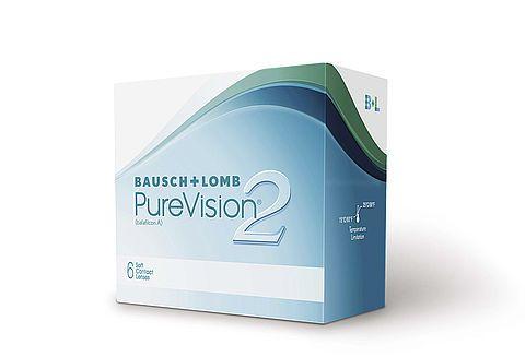 Контактные линзы Pure Vision 2 (6 шт)