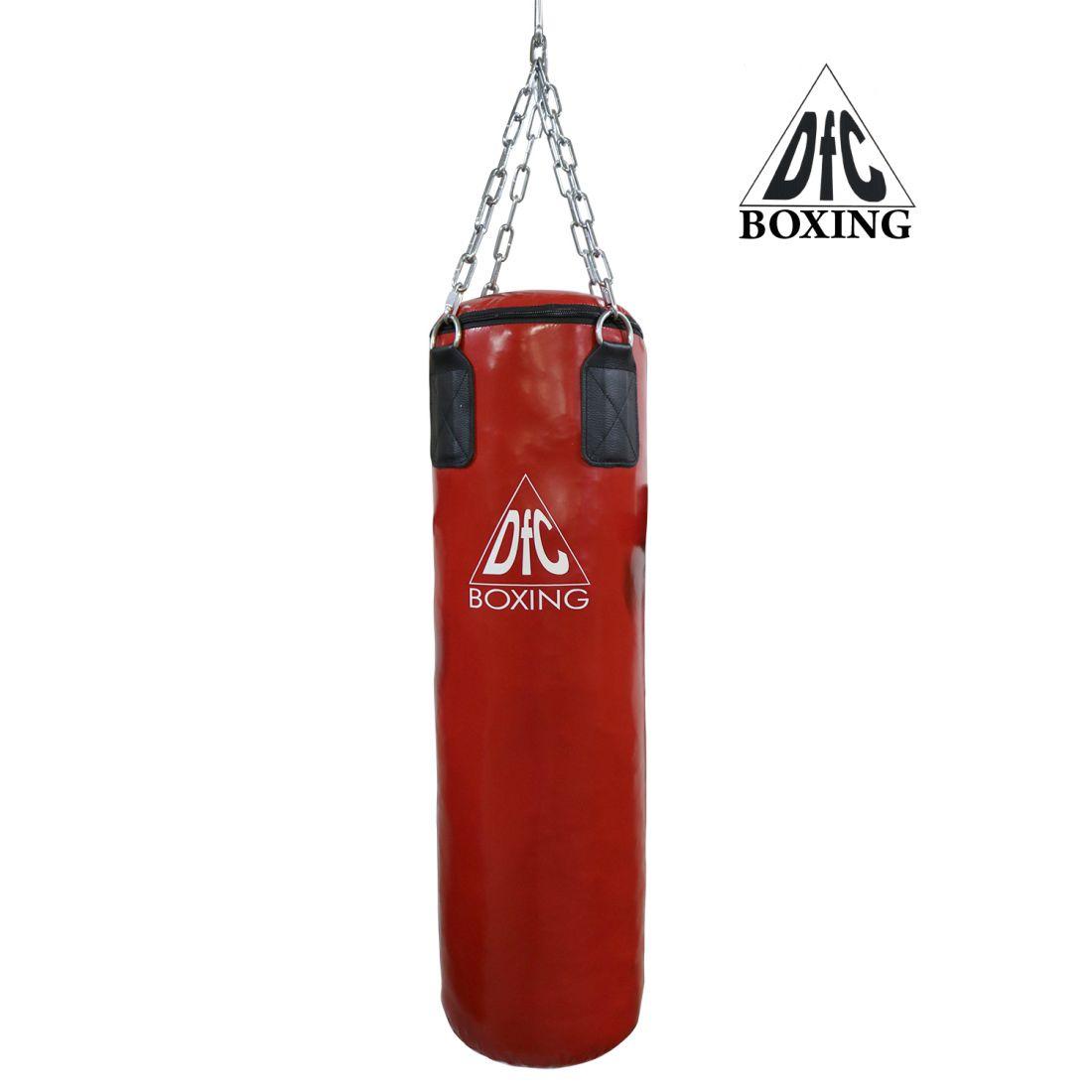 Боксёрский мешок DFC HBPV2.1 красный 100х30