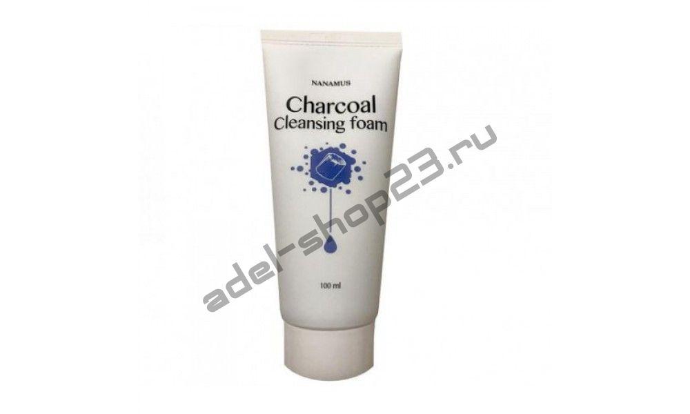 Nanamus - Charcoal Foam Cleansing пенка – пенка для умывания с углем
