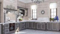 Кухня Тиффани Серебро